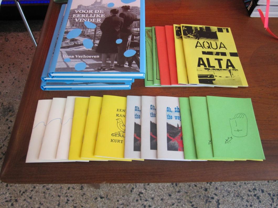 zines en boek VDEV in de Tape Shop in Arnhem