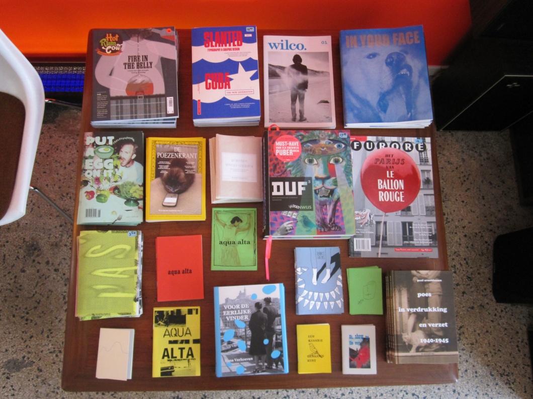 zines en boeken in Tape Shop in Arnhem