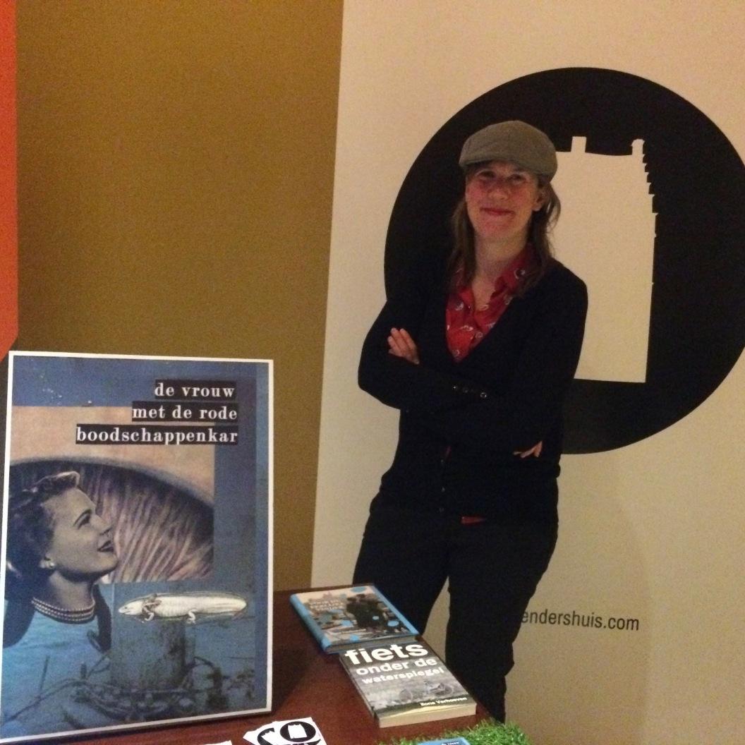 op het Nijmeegse boekenfeest