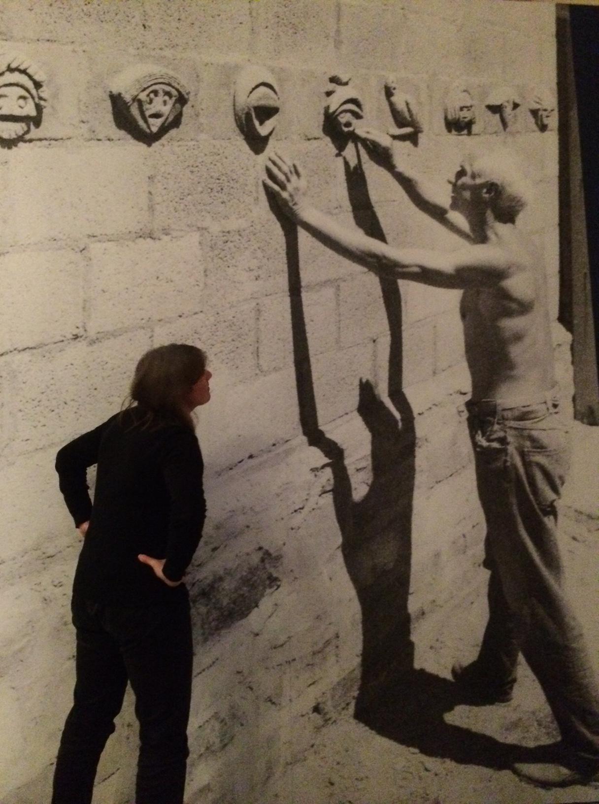 Max Ernst, zijn schaduw en ik.