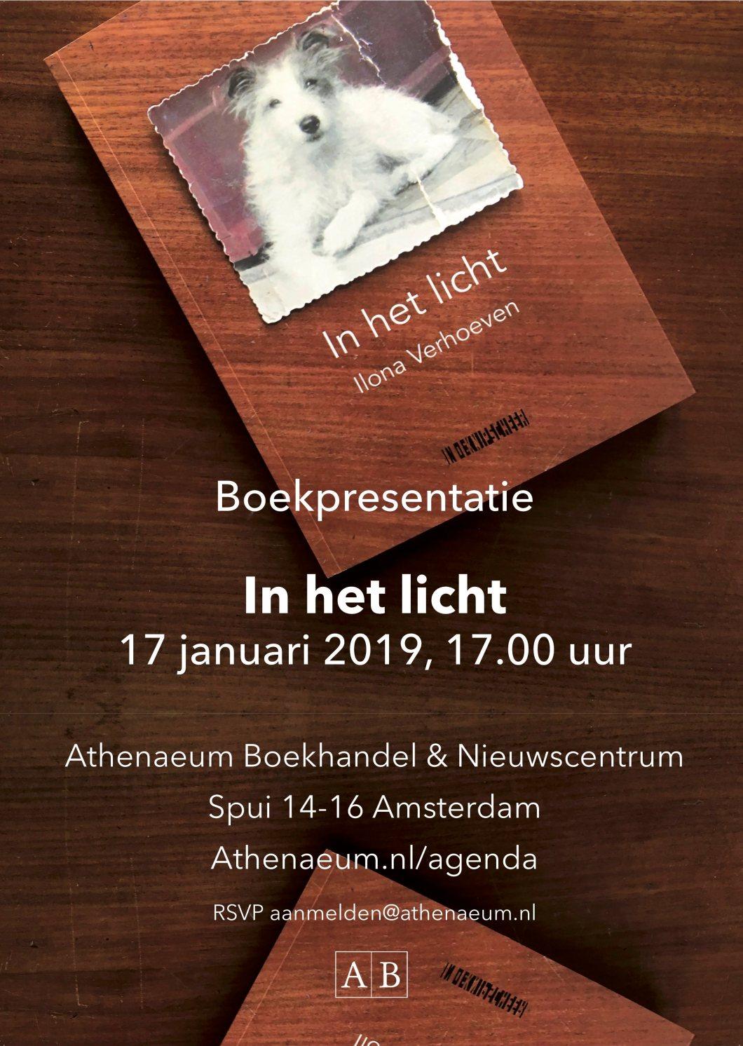 uitnodiging ! presentatie in het licht