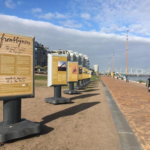 installation view frontlijnen
